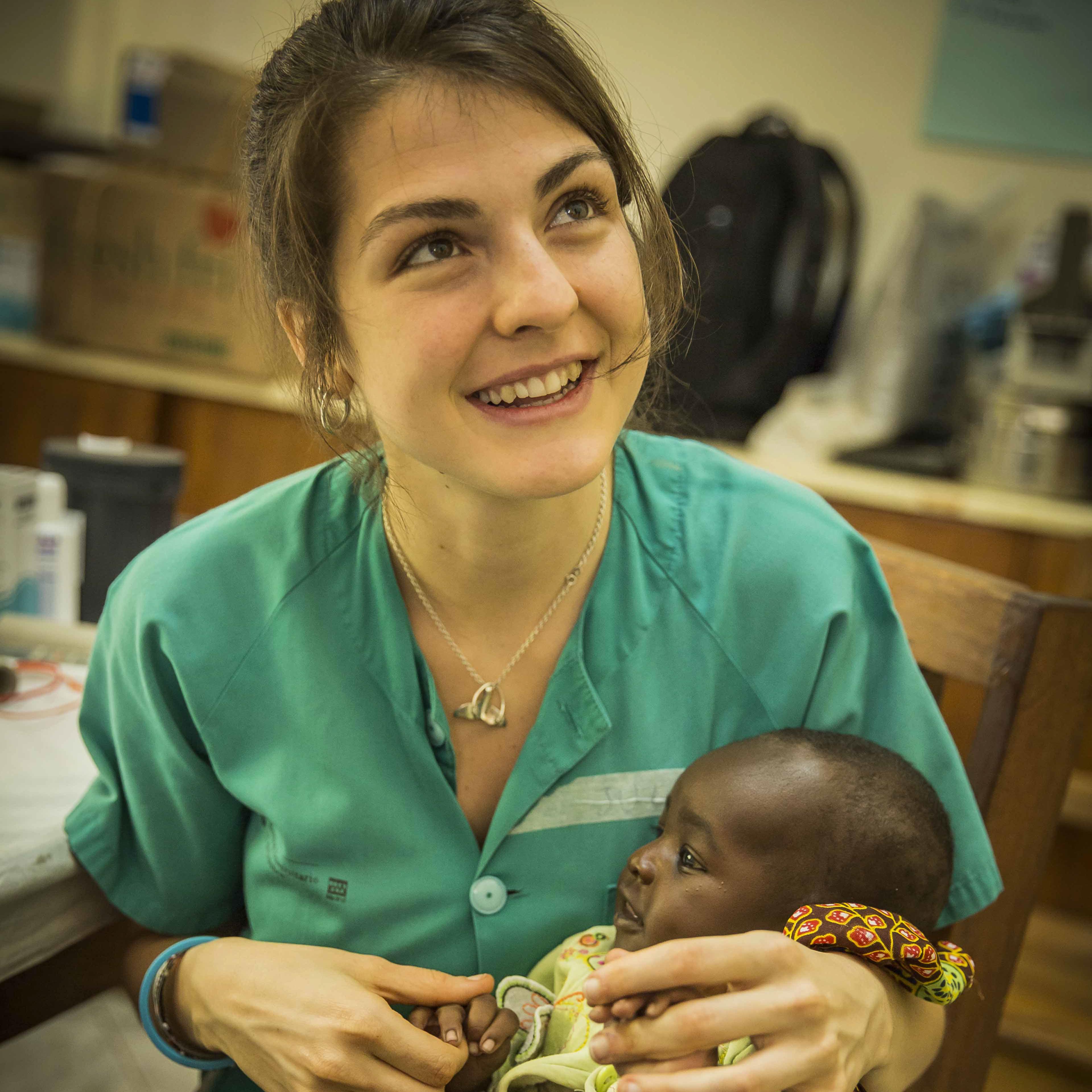 Julia Marín - Estudiante de Medicina