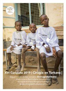 cartel xvi campaña cirugía en turkana - 2019